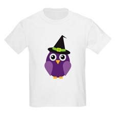 Owl with Halloween Hat T-Shirt