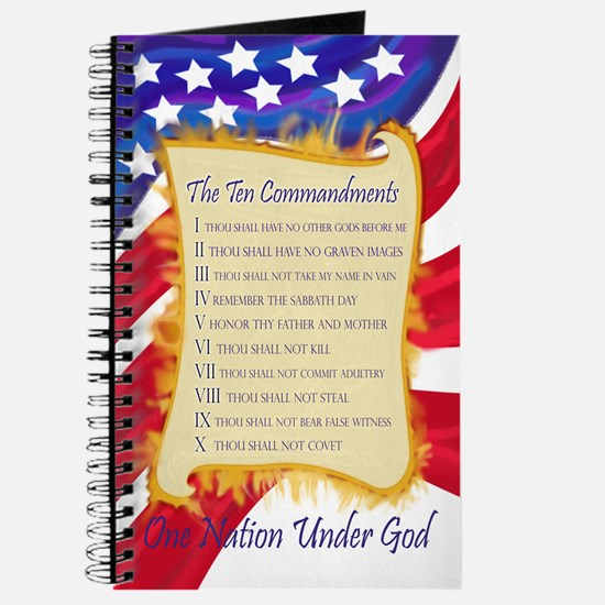 Ten Commandments Journal