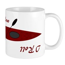 This Is How I Roll (Maroon) Mug
