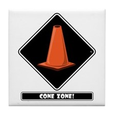 CONE ZONE Mugs Tile Coaster