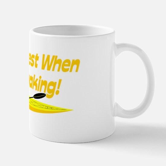 I'm Happiest When Mug