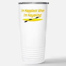 I'm Happiest When Travel Mug