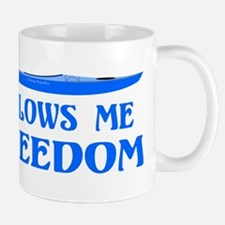 Allows Me Freedom Mug