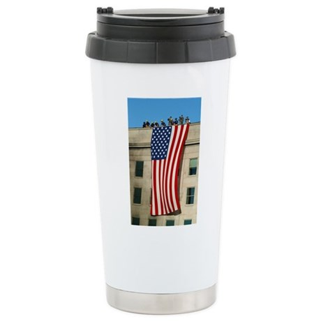 Pentagon Flag Stainless Steel Travel Mug