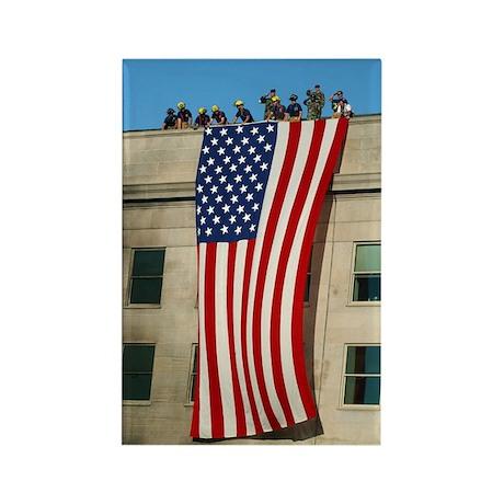 Pentagon Flag Rectangle Magnet (10 pack)