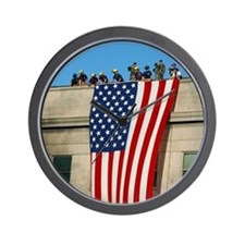 Pentagon Flag Wall Clock