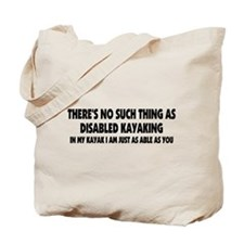 Just As Able Tote Bag