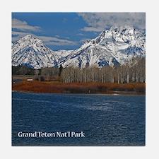 Cute Grand teton national park Tile Coaster