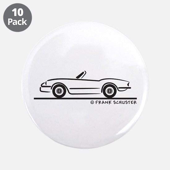 """1974 Triumph Spitfire 3.5"""" Button (10 pack)"""