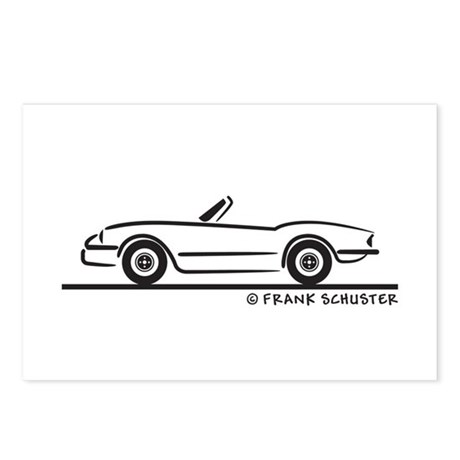 1974 Triumph Spitfire Postcards (Package of 8)