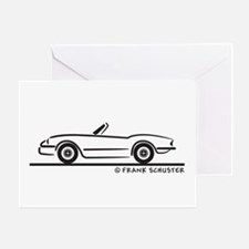 1974 Triumph Spitfire Greeting Card