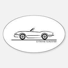 1974 Triumph Spitfire Sticker (Oval)