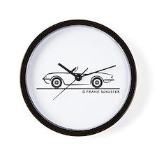 Triumph Spitfire Wall Clock