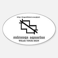 Glyph Suirauqa (Aquarius) Decal