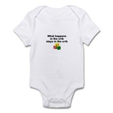 What happens in the crib Infant Bodysuit