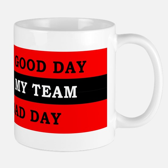 Wasted a Day Watching my Team Mug