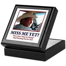 George W Bush, Miss Me Yet? Keepsake Box