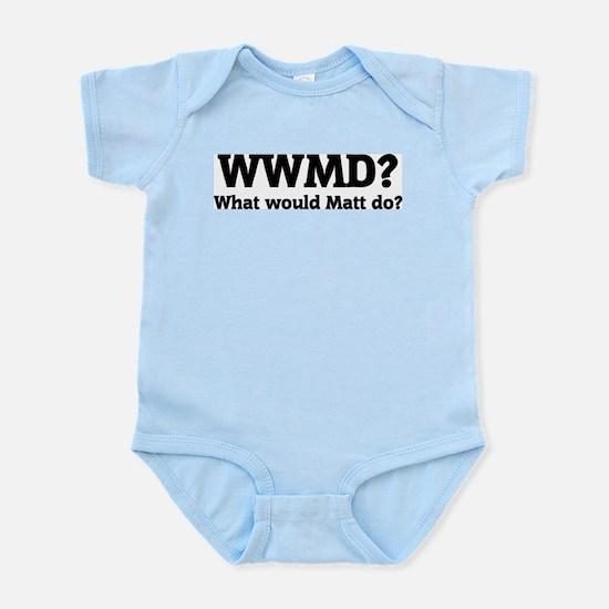What would Matt do? Infant Creeper