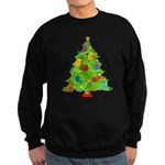 French Horn Christmas Sweatshirt (dark)