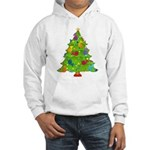 French Horn Christmas Hooded Sweatshirt