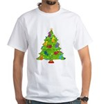 French Horn Christmas White T-Shirt