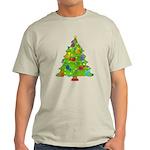 French Horn Christmas Light T-Shirt