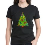French Horn Christmas Women's Dark T-Shirt