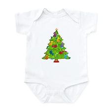 French Horn Christmas Infant Bodysuit