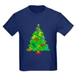 French Horn Christmas Kids Dark T-Shirt