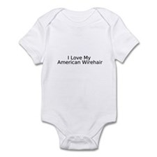 Unique American wirehair Infant Bodysuit
