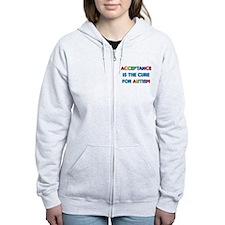 Autism Acceptance Zip Hoodie
