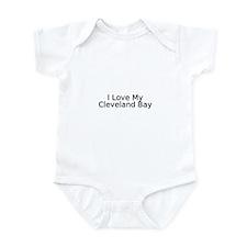 Cute Cleveland bay Infant Bodysuit
