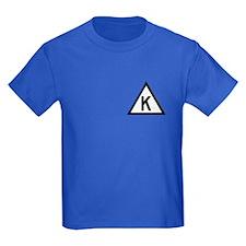 Triangle K Kid's T-Shirt (Dark)