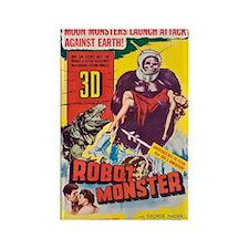 $4.99 Robot Monster in 3-D Magnet