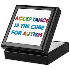 Autism Acceptance Keepsake Box