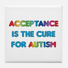 Autism Acceptance Tile Coaster
