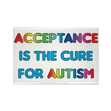 Autism Acceptance Rectangle Magnet (10 pack)