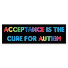 Autism Acceptance Car Sticker