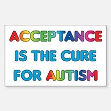 Autism Acceptance Decal