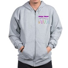 Stick People Occupations Zip Hoodie