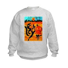 Banjo Cat Crepe Sweatshirt