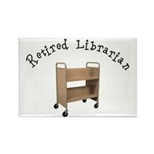 Retired Occupations Rectangle Magnet