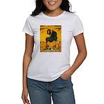 Witch On Pumpkin Women's T-Shirt