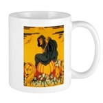 Witch On Pumpkin Mug
