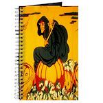 Witch On Pumpkin Journal