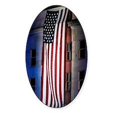Pentagon Flag Decal