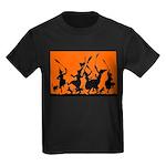 Witches Dance 2 Kids Dark T-Shirt