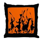 Witches Dance 2 Throw Pillow