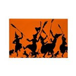 Witches Dance 2 Rectangle Magnet (100 pack)