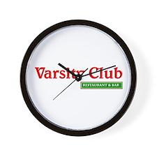 Varsity Club Wall Clock